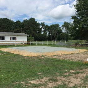 Foundation installed by Site Preparations, LLC