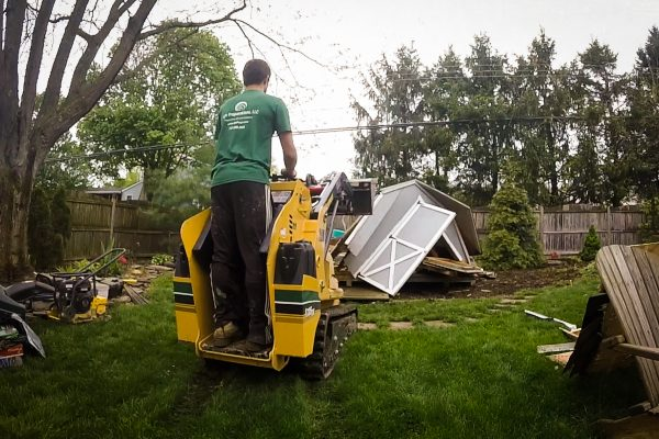 Shed demolition available in Connecticut