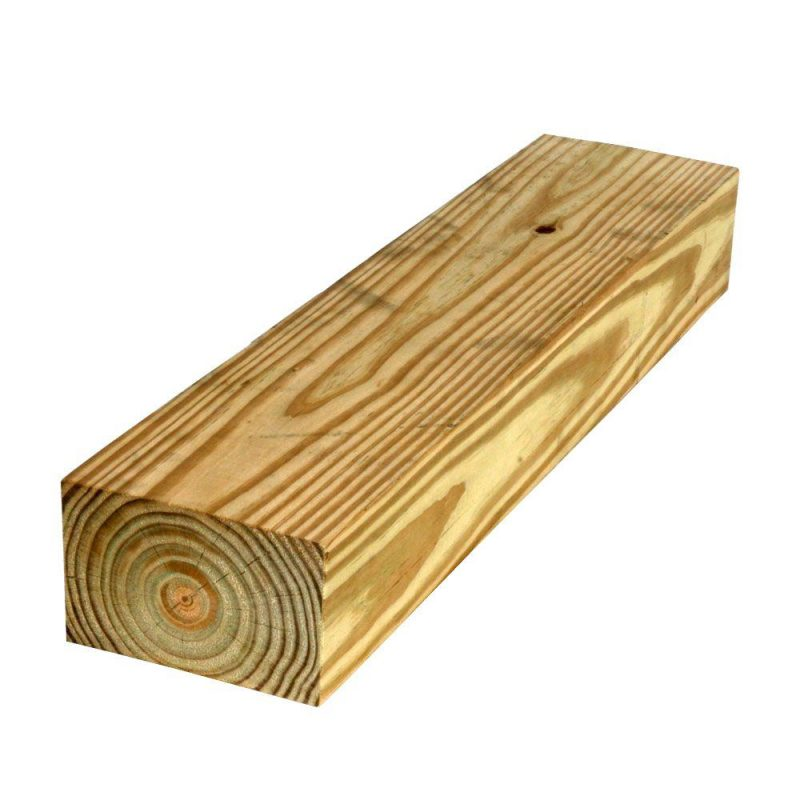 Lumber for installing a gravel shed pad.