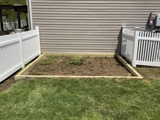 Installing a shed foundation in Coatesville, PA