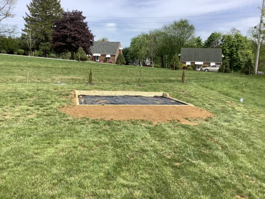Building a shed foundation in Coatesville, PA