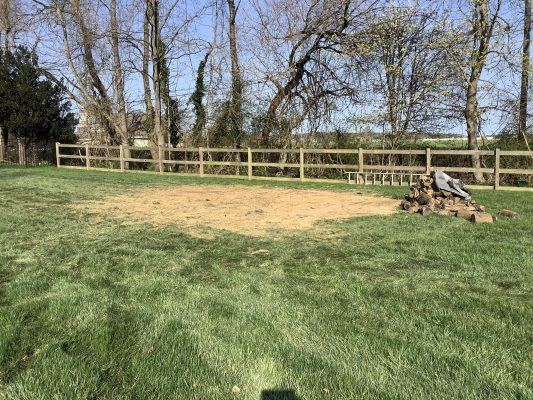A shed removal in Hunt Valley, MD