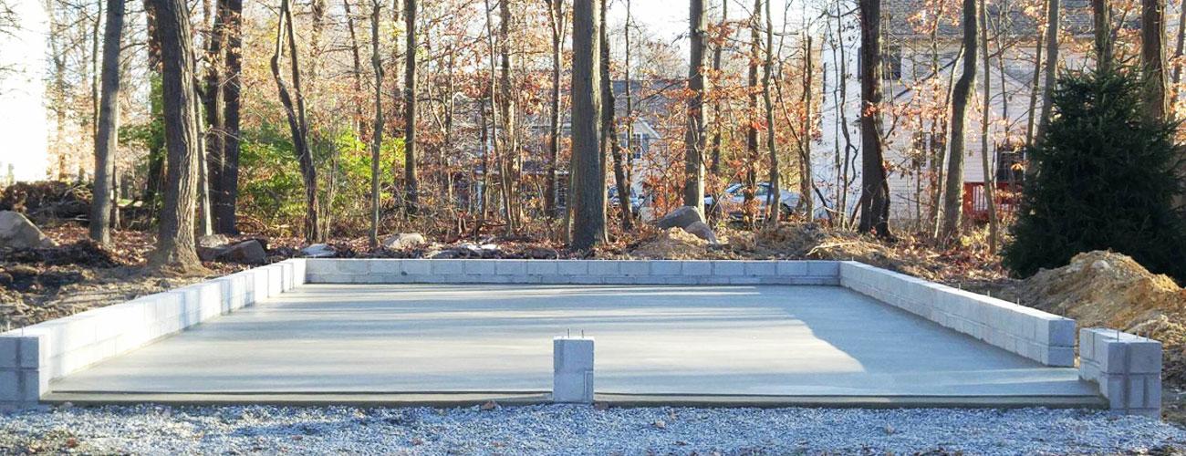 Concrete Shed Foundation
