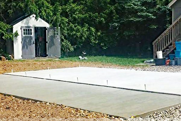 Concrete Foundation For Sheds