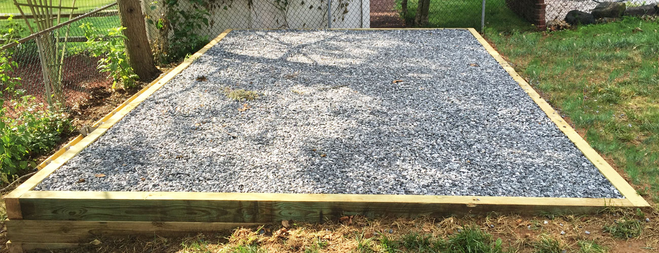 Prepare Gravel Pad For Sheds And Garages Get Free Quote