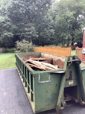 """""""A gravel shed foundation in Reisterstown, MD"""""""
