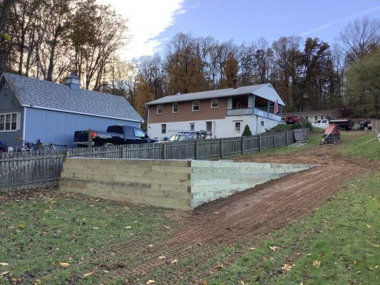 """""""A gravel shed foundation in Quarryville, PA"""""""