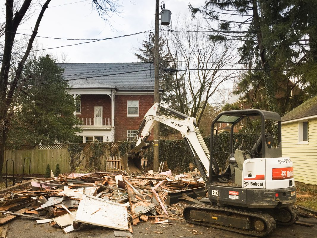 Shed demolition company from PA working in MD