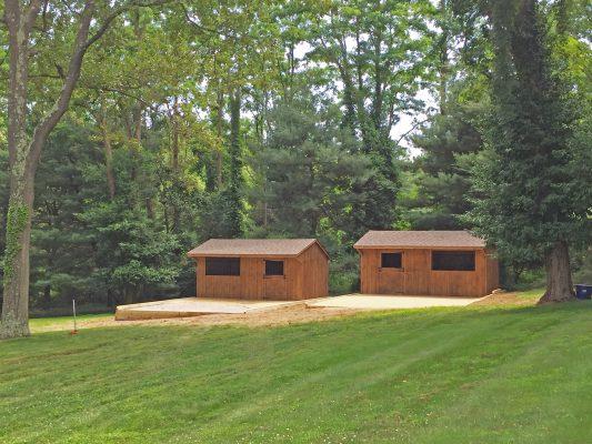 Gravel foundations for sheds in Highlands, NJ