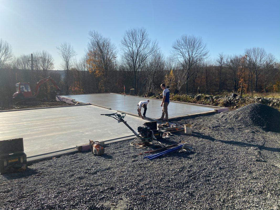 Justin M Concrete Garage Foundation Greeley Pa Site Preparations